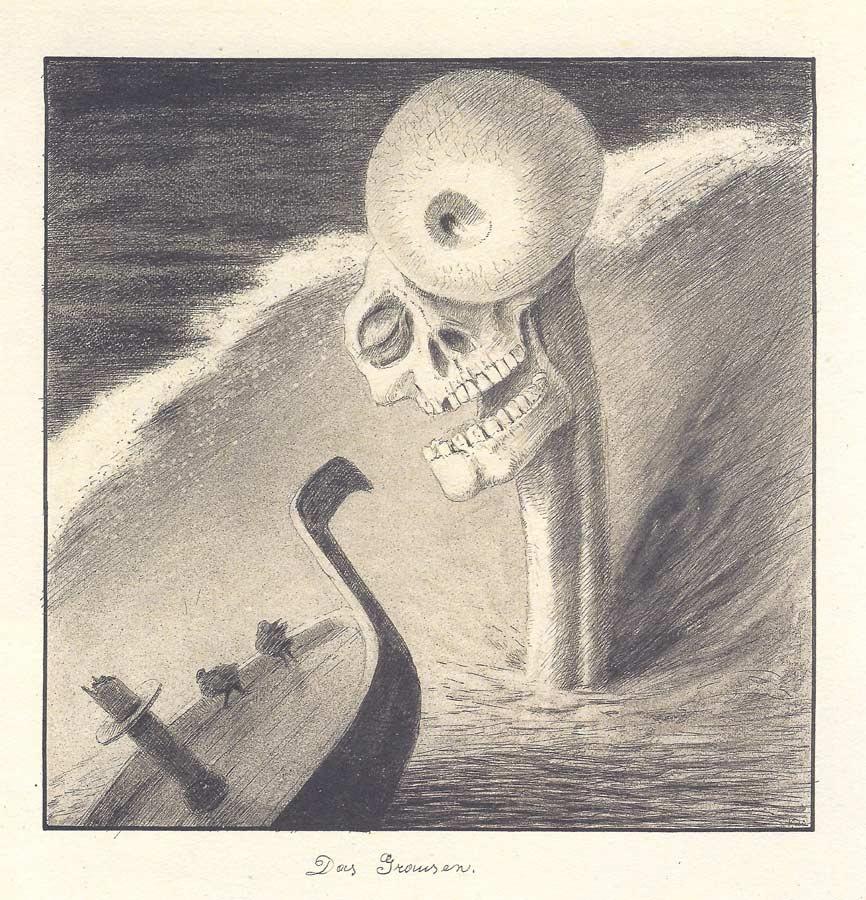Alfred Kubin - The Terror, 1901