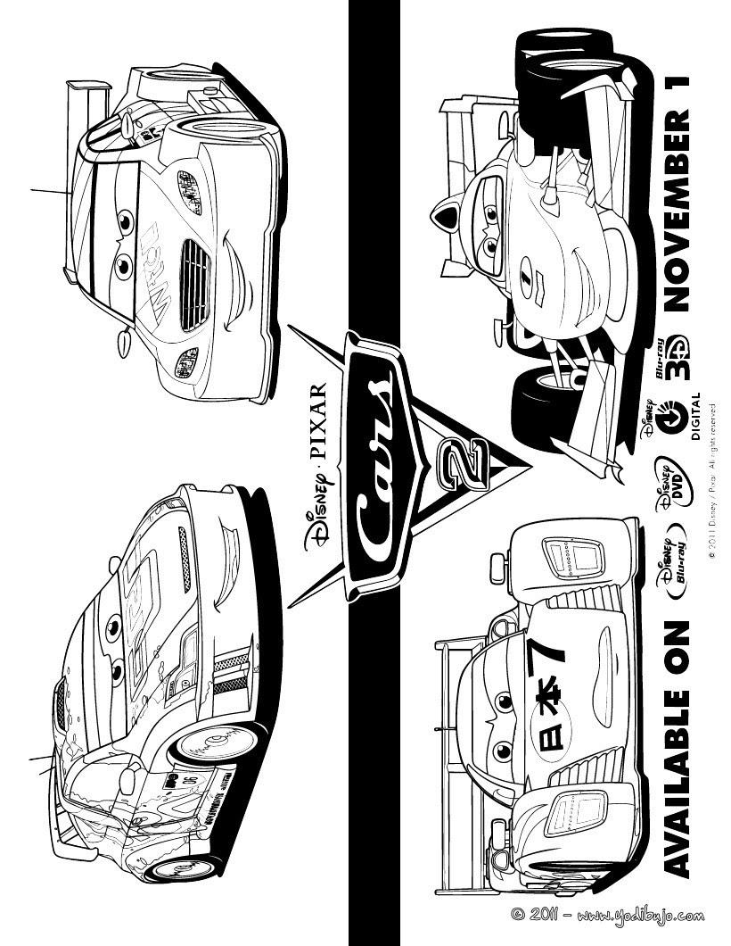 Dibujos Para Colorear Cars 3 Cruz Ramirez Dinoco Es Hellokids Com