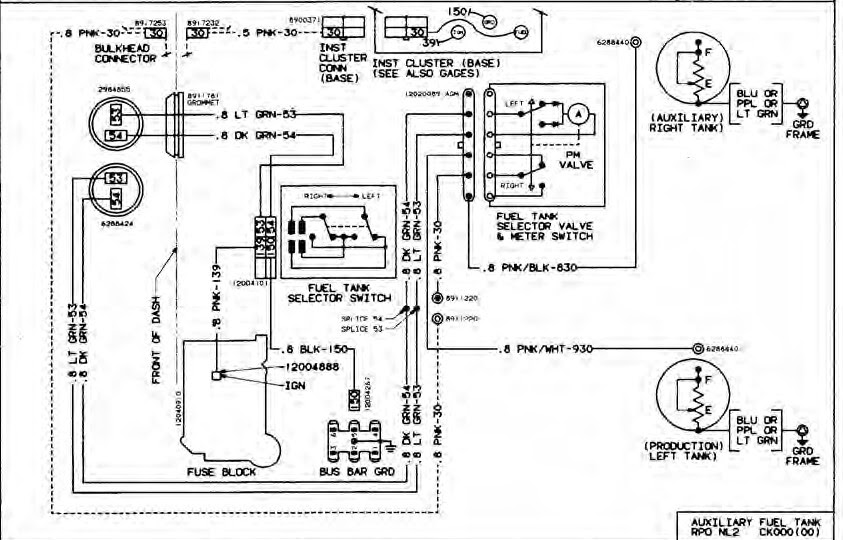 Chevy K10 Fuel Line Diagram