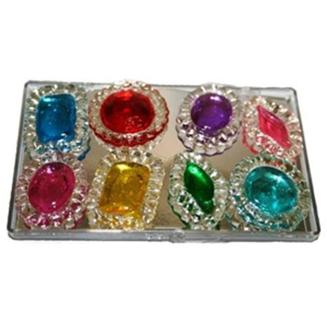 Edible Jewels for Your Cake in all Colors Order a plain