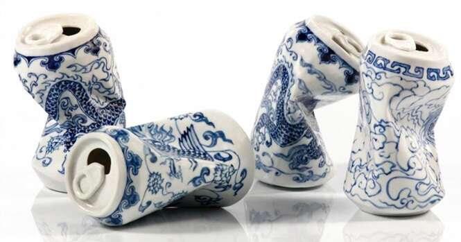 Artista faz incríveis esculturas de porcelana