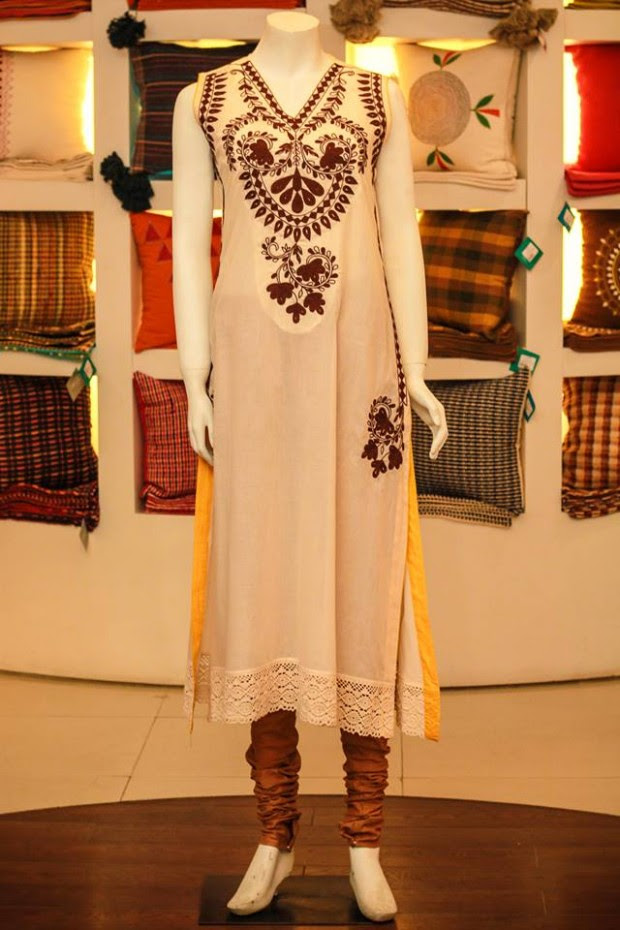 Casual-Lawn-Womens-Girls-Kurta-Kurti-Collection-2013-by-Thredz-for-Ladies-4