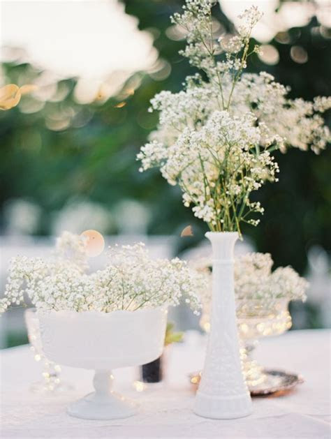 90 Rustic Budget friendly Gypsophila Baby's Breath Wedding