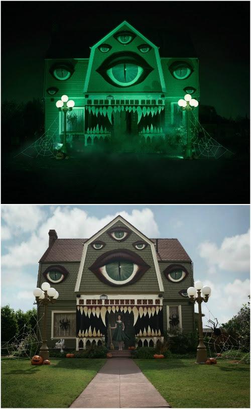 Удивите ваших соседей с этого легко сделать дома Декор Монстр