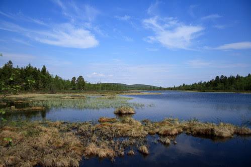 Lago de la carretera 92