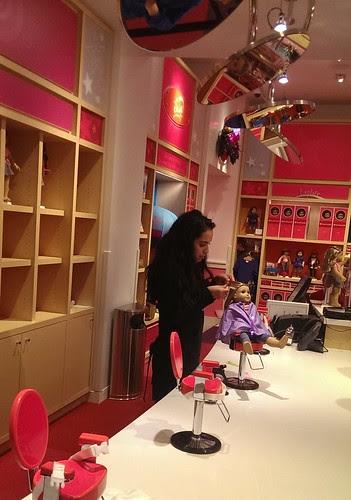 Doll Hair Salon, 2nd floor