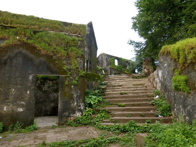 Sion Fort - Stairs to the ruins