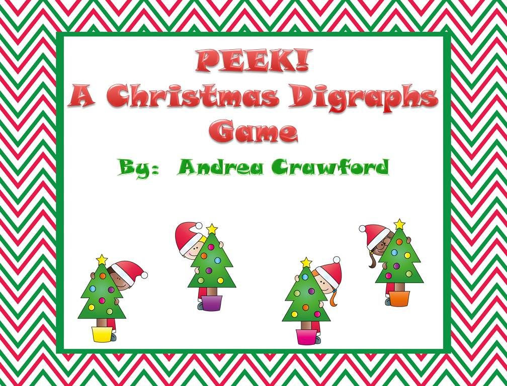 http://www.teacherspayteachers.com/Product/Peek-A-Christmas-Digraphs-Game-ch-sh-th-wh-1020333
