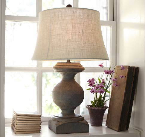 Pottery Barn Lamp : Livingroom Ideas
