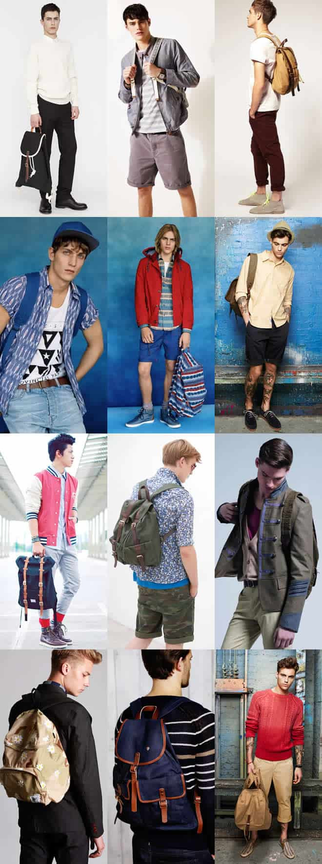 Men's Backpack Lookbook