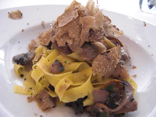 Wild Mushroom Tagliatelle with truffles