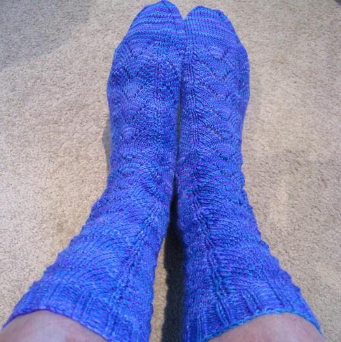 Dragonfly socks 2