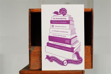 Jeshurun   Ryan's Book and Coffee Inspired Wedding Invitations