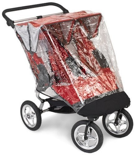Mini Jogger Baby Jogger City Elite Double Stroller Rain Canopy