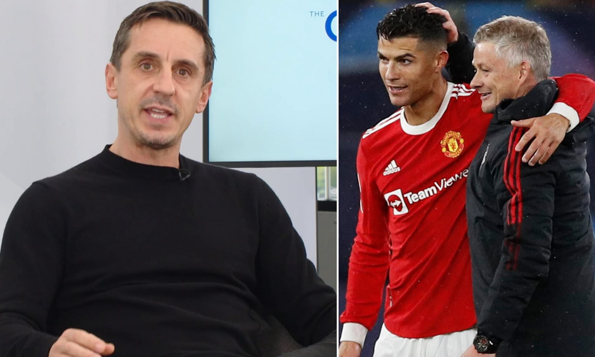Man United: Solskjaer MUST 'compensate' for Cristiano Ronaldo's poor work rate, says Gary Neville
