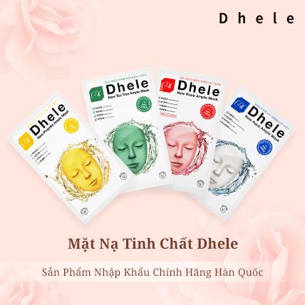 [Review] 4 loại mặt nạ Dhele dưỡng da sáng đẹp rạng ngời