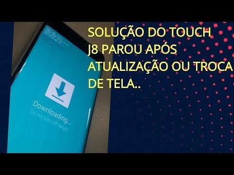 Solução do touch J8 / j810 parou touch após atualização android 9 ou troca de tela