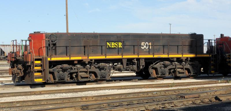 NBSR 501 in Winnipeg. Photo by Mark Perry