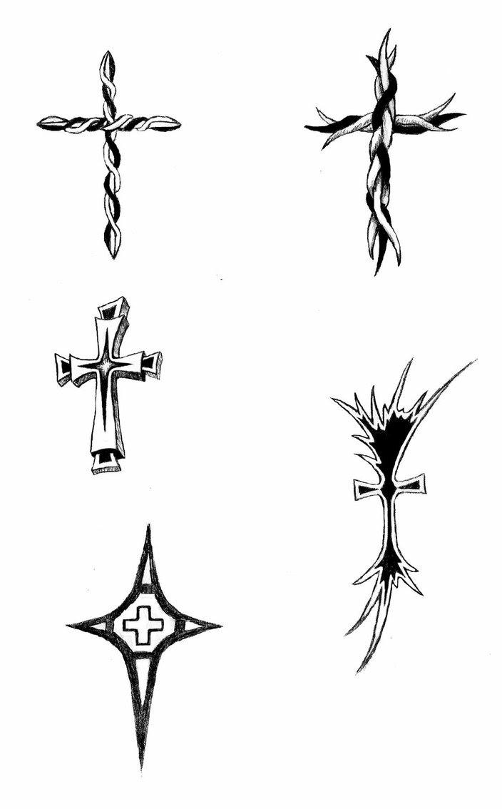 Cross Tattoos Designs By Dabirdboi