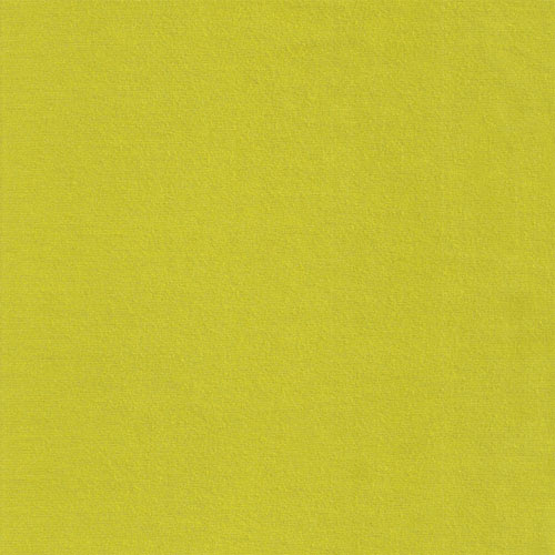 Chartreuse Green Solid Cotton Spandex Knit Fabric