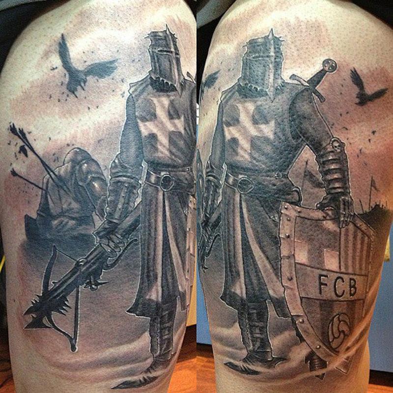 Samuel Sancho Tatuador En El Estudio De Tatuajes Wanted Tattoo Mollet