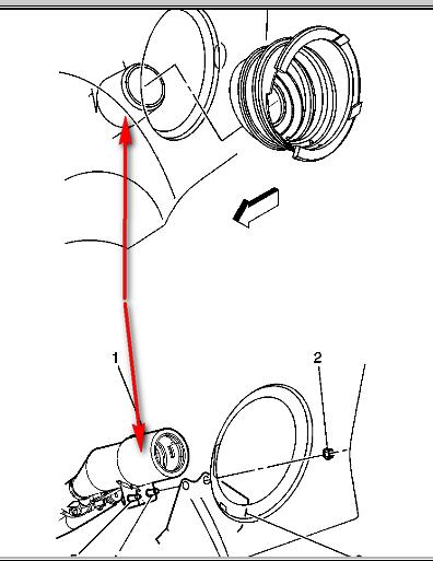 fuel fill tube