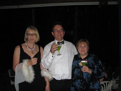Jessie, self and Pauline