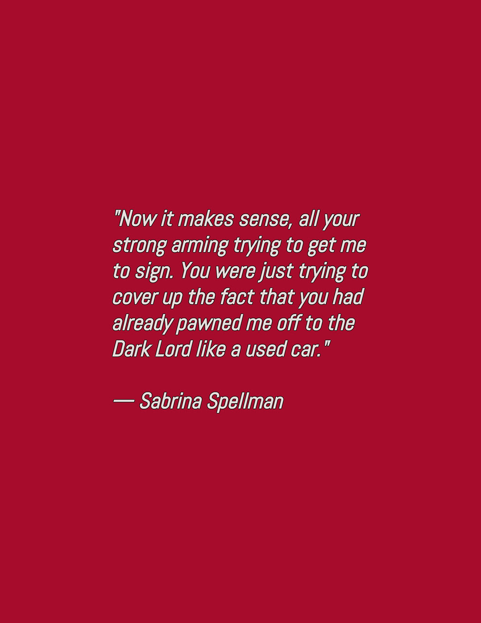 Sabrina Sabrina Spellman Quote And Chilling Image 6538504 On