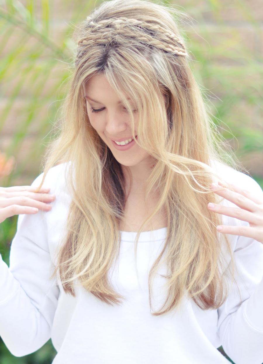 Sujo Corda cabelo tranças tutorial superior