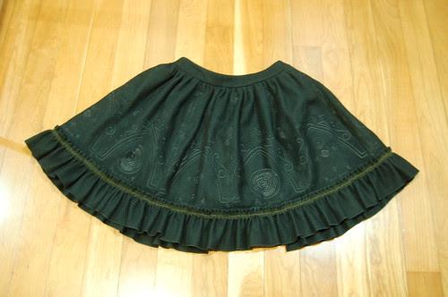 Lolita Closet Count! Skirts: Black - Rose Melody's Rosa Crucifix Skirt