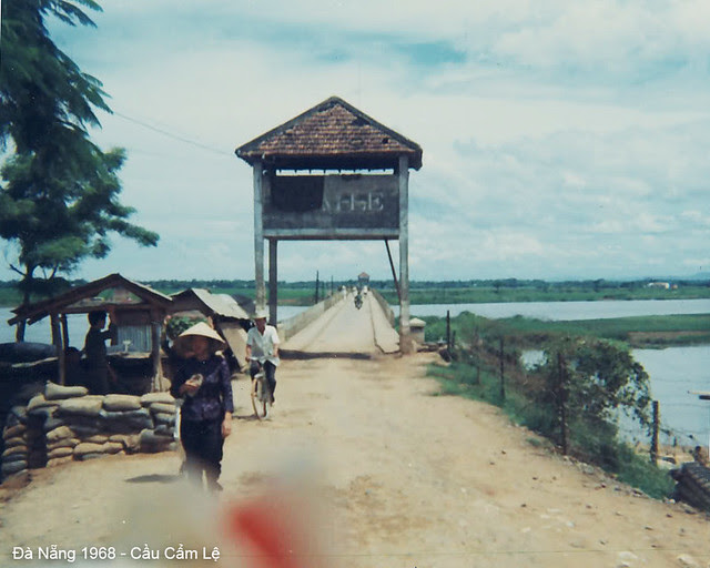 Cam Le Bridge, south of DaNang on Hwy 1, spanning the Song Cau Do River - 1968