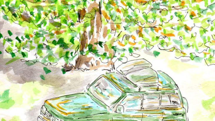 大人の塗り絵 世界の街角から 旅の最中にであった素敵な街角の風景