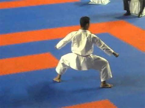 kata seienchin faizal zainudin indonesia karate wkf