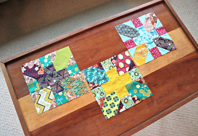 August x & + Bee Blocks for do. Good Stitches