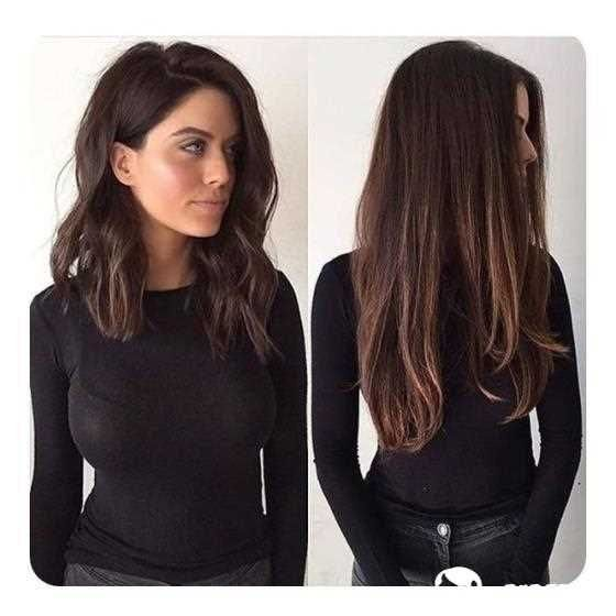 long bob frisur gestuft mittellange haare frisuren