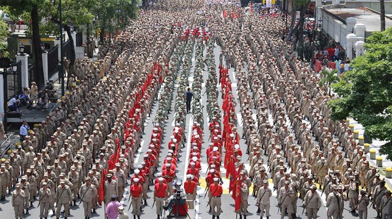 Las actividades continuarán el martes y miércoles 19 de abril cuando el pueblo revolucionario tome las calles de Caracas .