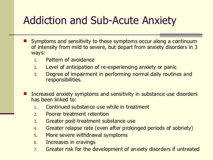 Treating Co-Occurring Mood & Anxiety Disorders with ...
