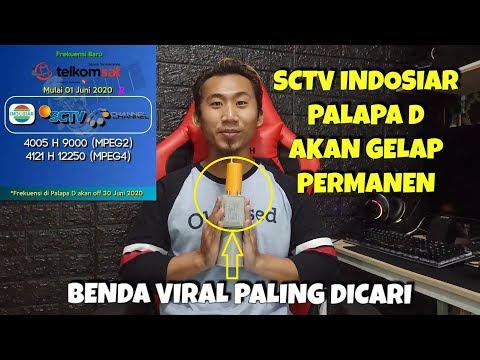 SCTV INDOSIAR Pindah ke Satelit Telkom 4 Mulai 1 Juni 2020
