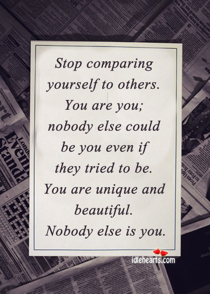 Stop Competing With Others Quotes