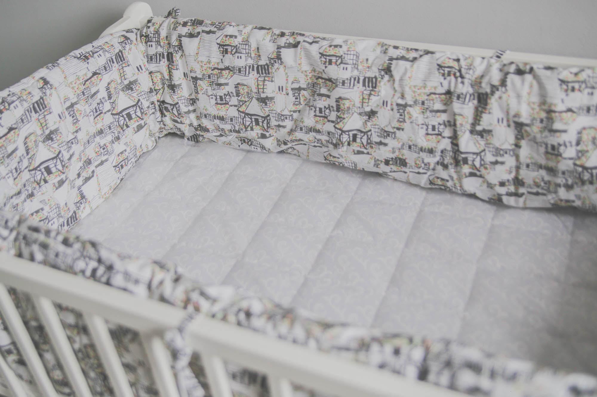 Jak Uszyć Ochraniacz Na łóżeczko Zabiegana Mama