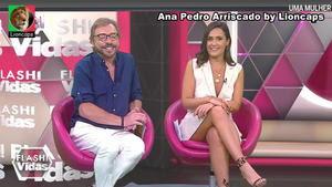 Ana Pedro Arriscado sensual na Cmtv
