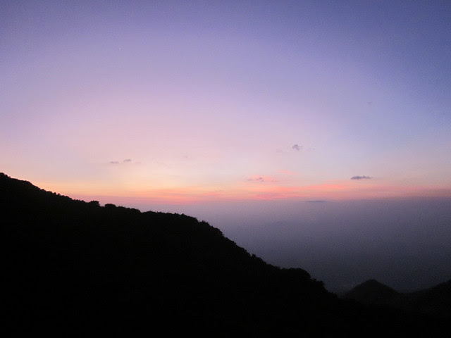 Kumara_Parvatha_Trek_Pushpagiri_Top_Sunset