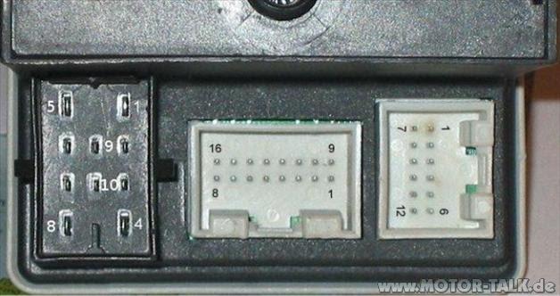 Schaltplan Audi A4 B5 Radio