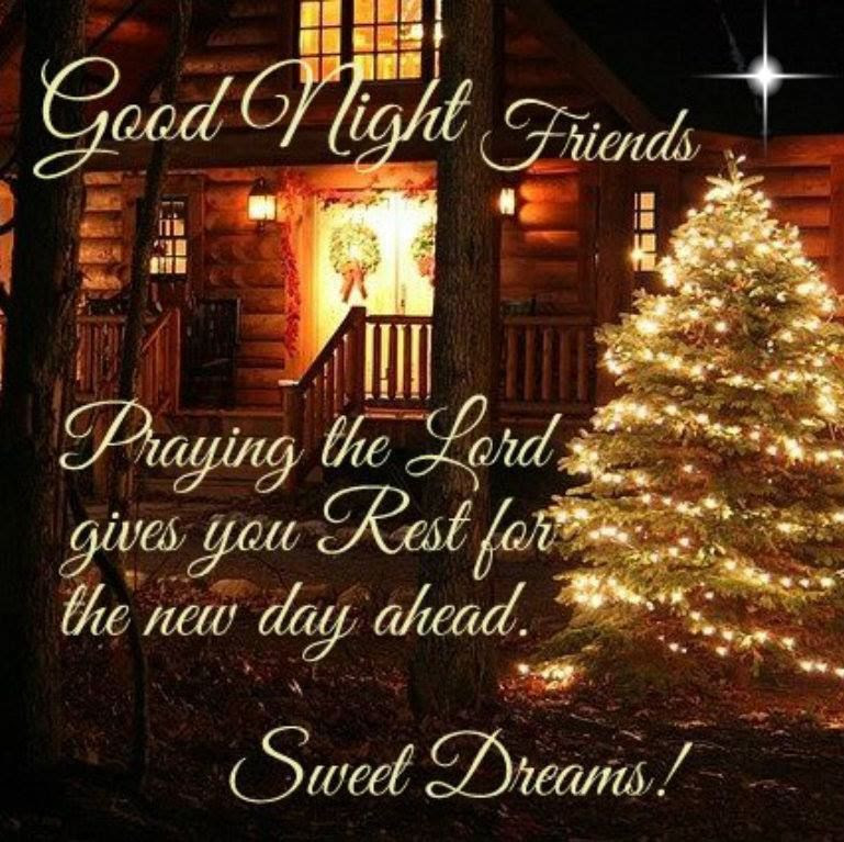 Christmas Good Night Quote Pictures Photos And Images For Facebook