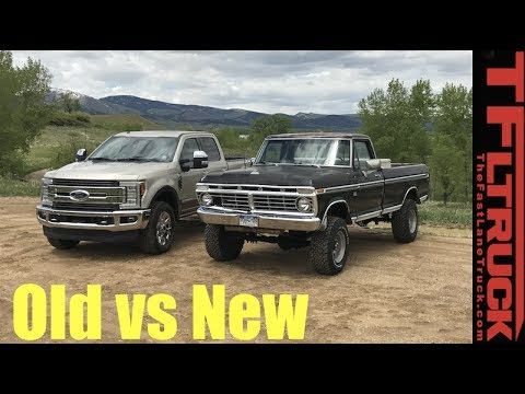 Commercial Truck Success Blog Old Vs New 1974 Vs 2017