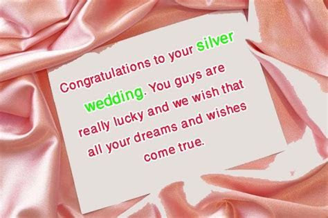 Congratulations Messages for 25th Wedding Anniversary