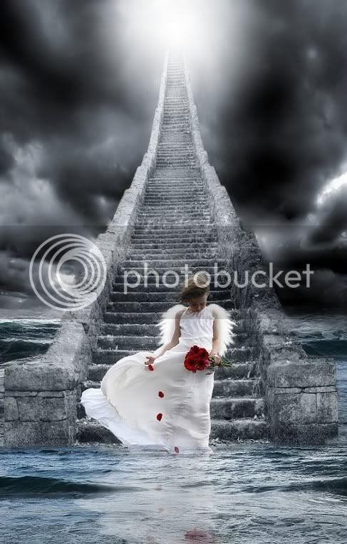 Picture - Little Angel Walking on Water