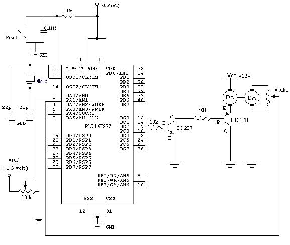 Mạch điều khiển Transistor