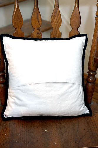 Echino Decoro Pillow back
