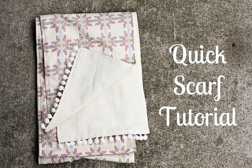 Quick Scarf Tutorial - In Color Order